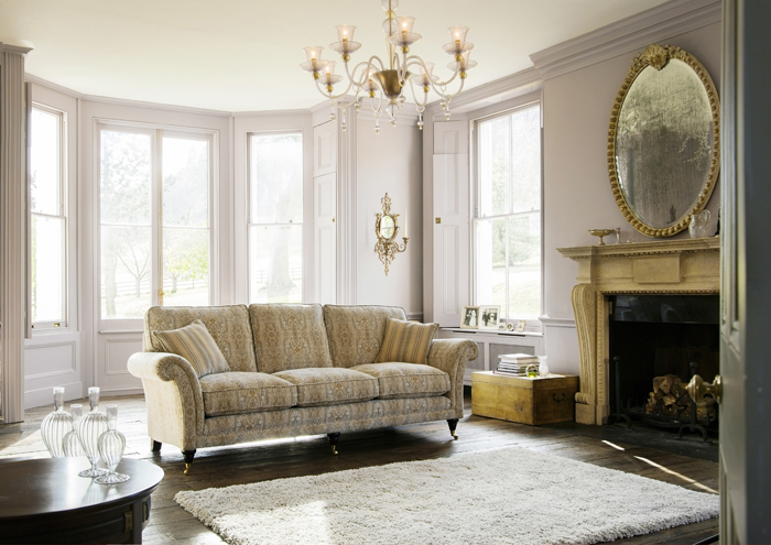 Диван Burghley, фабрика Parker Knoll