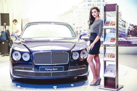 Fabian Smith на Bentley Flying Spur
