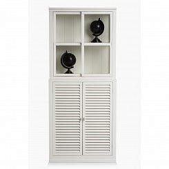 Шкаф с дверьми-жалюзи Villinki